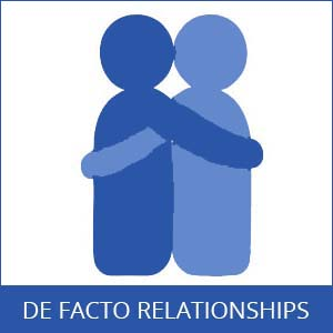de facto relationships entitlements